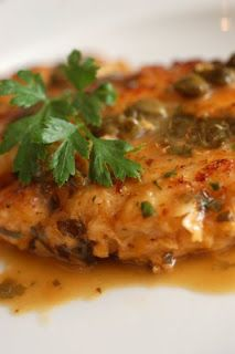 Giada's Chicken Piccata  we make this ALL the time, it's so easy and so flavorful and i never need wine to make it (bonus)