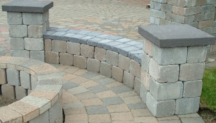 9 Best Images About Retaining Wall Benches On Pinterest Fire Pits Curved Bench And Cement