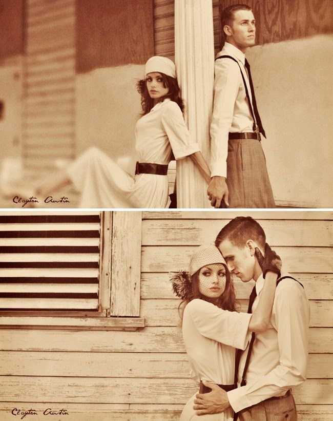vintage engagement.  This is one of my favorite shoots I've seen so far!