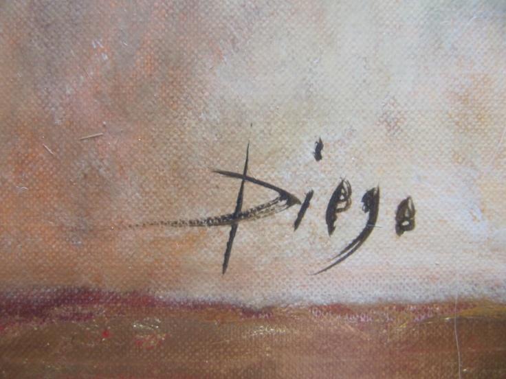 DiegoVoci™ The Artist's signature....