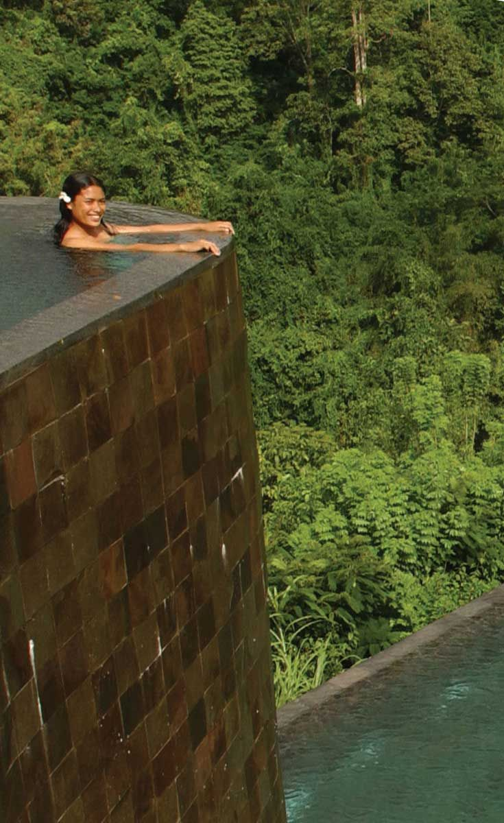Hanging Garden Ubud Bali Hotel Pool