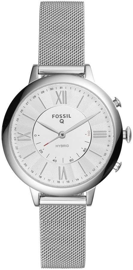 Fossil Q Jacqueline Hybrid SmartWatch. | Men's fashion.⌚ | Watches, Smart watch, Watch sale