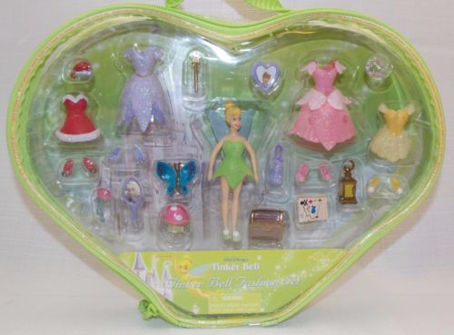 Disney-Parks-Princess-Fashion-Play-Set-Tinkerbell-Fairy-Polly-Pocket-New