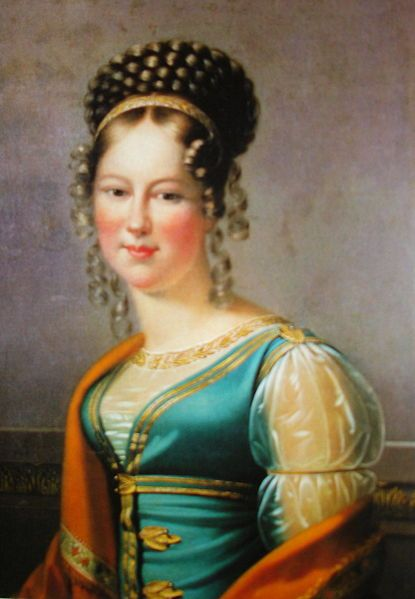 Princess Mária Antónia von Koháry (2 July 1797 – 25 September 1862) was a Hungarian noblewoman and the ancestor of several European monarchs. She was the heiress of the Koháry family and one of the three largest landowners in Hungary.