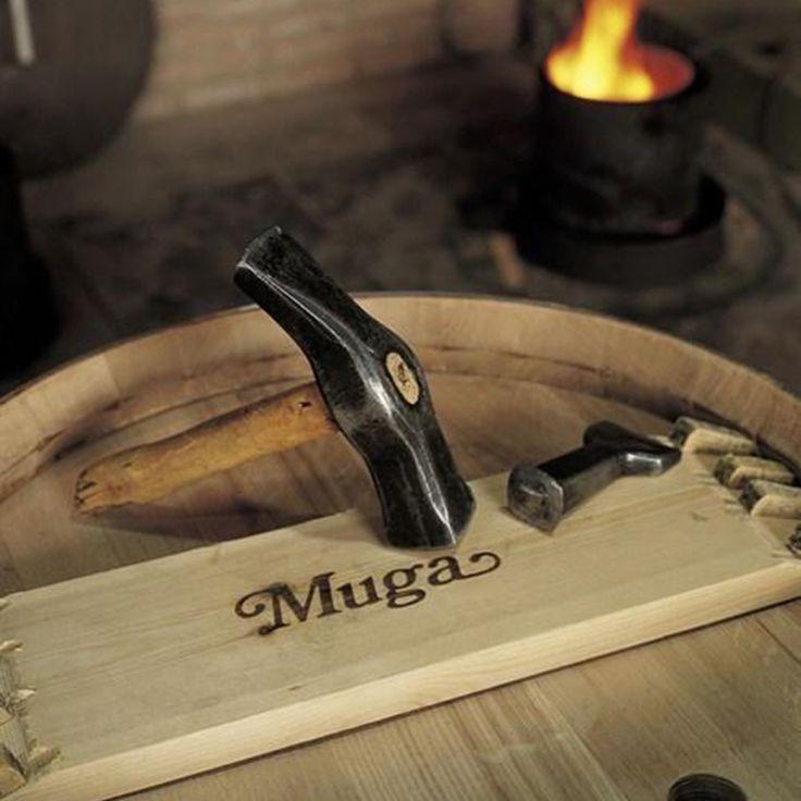 Bodegas MUGA - Haro, La Rioja invierte entre 2 y 2,5 millones de euros al año en la fabricación de más de 2.000 barricas. La #Hosteleria de #Gipuzkoa lo valora.