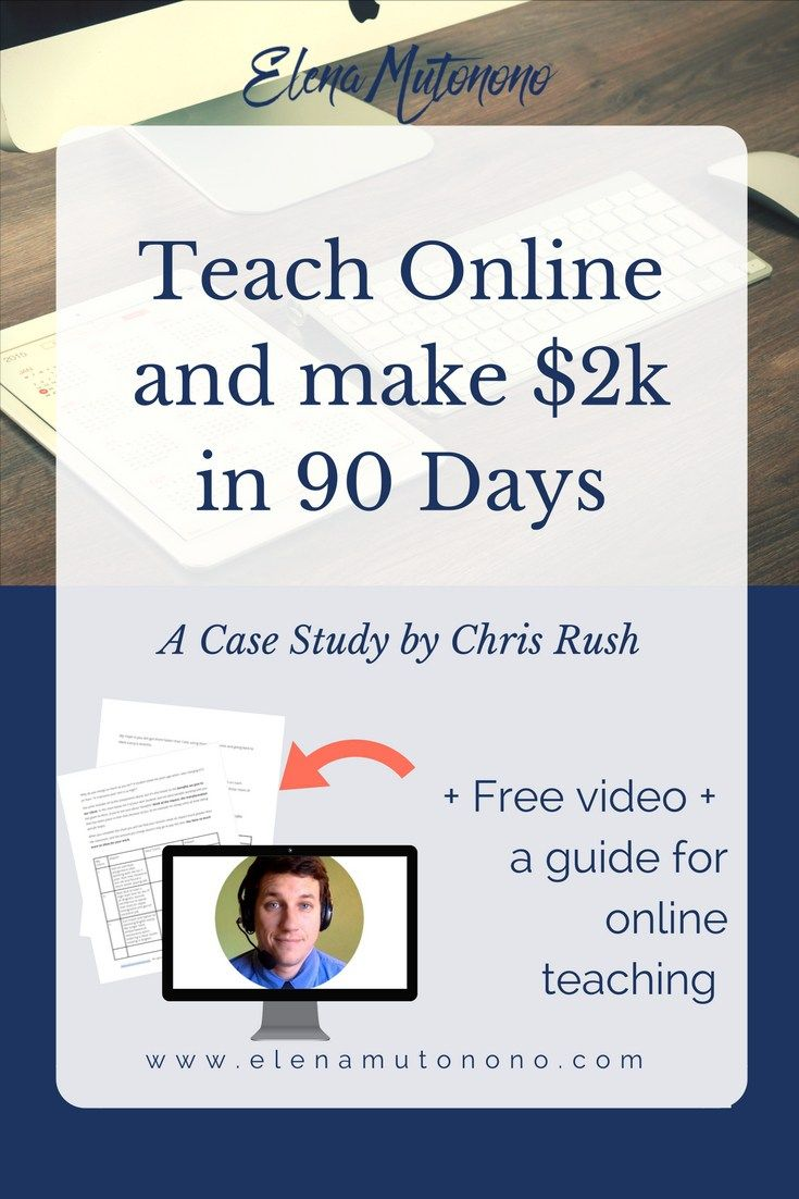 This guy went from making 0 to $2k by teaching English online. Learn how he did it + download a free guide + video tutorial