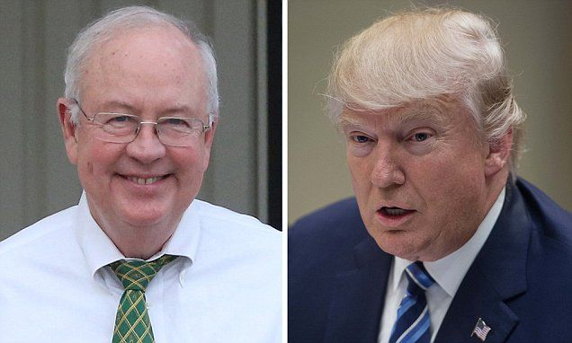 Ken Starr 'is lined up for a job in the Trump administration' #DailyMail