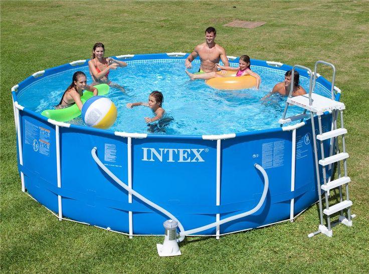 clipsez les tubes est en 45 min seulement votre piscine est install piscine hors sol dune surface de nage de m livr avec purateur cartouches - Liner Pour Piscine Intex Tubulaire