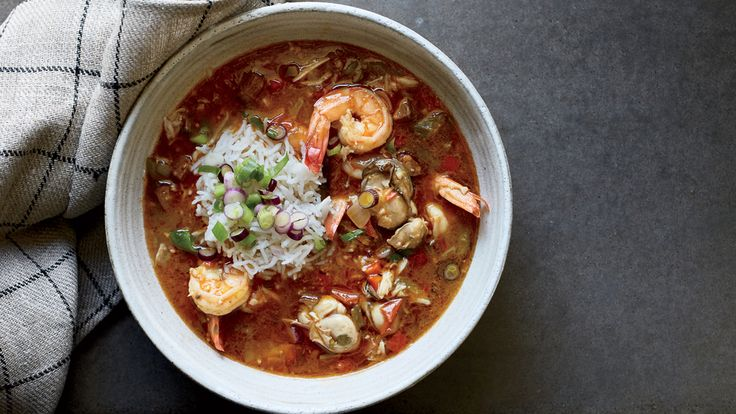 HERE, SLADE RUSHING OF NEW ORLEANS'S BRENNAN'S STEP-BY-STEP GUIDE TO MAKE THE BEST SEAFOOD GUMBO. GET THE RECIPE AT FOOD & WINE.