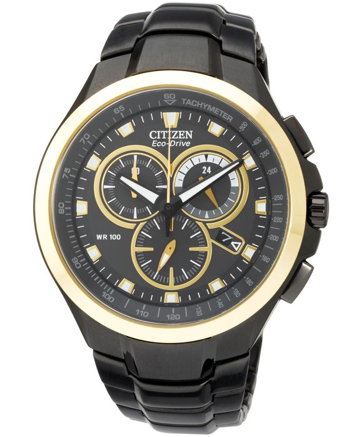 17 best images about citizen watch english citizen citizen men s chronograph eco drive black ion plated stainless steel bracelet watch 42mm at0908