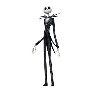 Once in a blue wool: Jack Skellington - Virkattu nukke