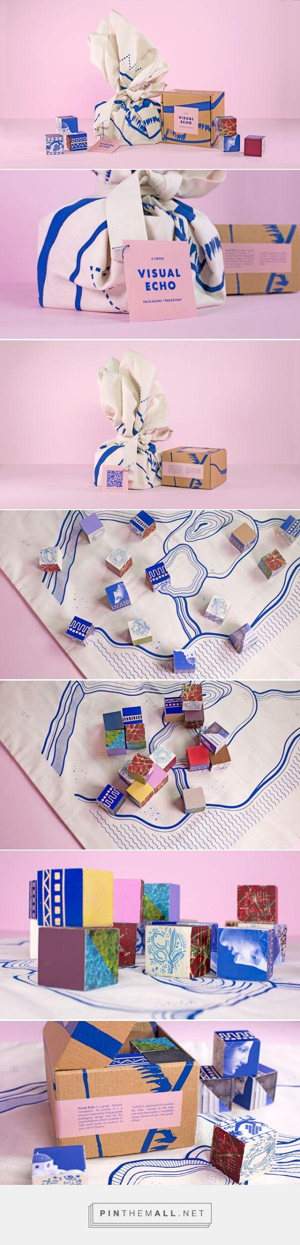 Geografische stijl 3 GRIEKS, Blauwe lijnen mooi gecombineerd met roze