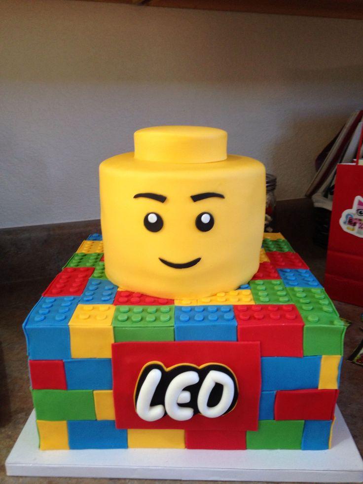 Lego Birthday Cupcake Cake