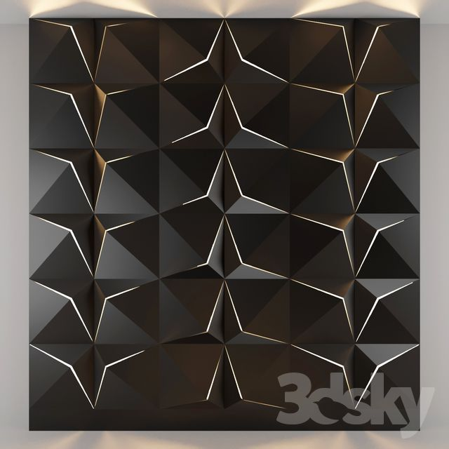 3d Panel Light Panel Decorative Light Decorative Wall 3d Pattern Wall Light Tile Light Tile Decorate 3dsky 3ddd R With Images 3d Panels Decorative Objects Paneling