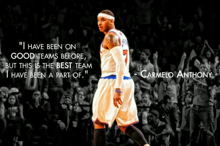 carmelo anthony quotes life - photo #5