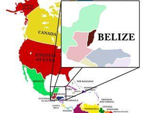 Aqua Vista Beachfront SuitesWhere is Belize Located? - Aqua Vista ...