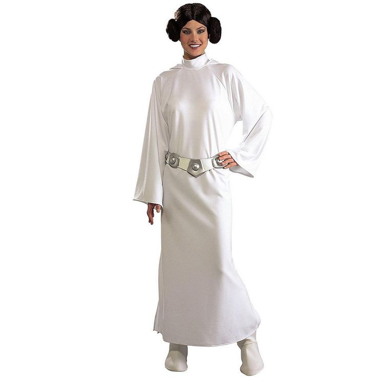 Star Wars Princess Leia Deluxe Costume - Adult, Women's, White