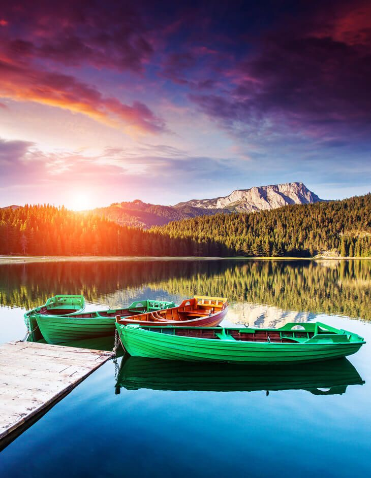 The 7 day self-drive Discover Montenegro tour takes you Montenegro's best spots, like Zabljak in Durmitor National Park.
