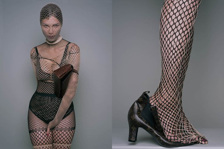 The sinful symbology and history of the fishnet by Valerie Steele