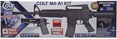 awesome BRAND NEW!! Colt M4A1 Field Duty Spring Airsoft Gun Kit PLUS Bonus Colt Pistol!! - For Sale Check more at http://shipperscentral.com/wp/product/brand-new-colt-m4a1-field-duty-spring-airsoft-gun-kit-plus-bonus-colt-pistol-for-sale/