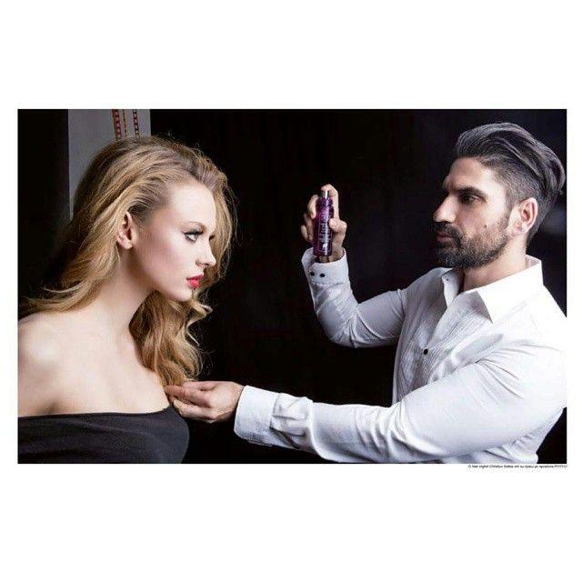 #lofficiel.hellas / Instagram  Beauté -Bride to be...- Ο hair stylist Christos Xidias επί τω έργω με προϊόντα PHYTO! Photo GEORGE LIVIERATOS Creative Director ELENA BOROVITSKA Make Up MANOS KATRINIS Model VICTORIA @ Agencia