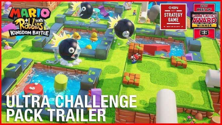 Mario  Rabbids Kingdom Battle: Ultra Challenge Pack DLC | Gameplay Trailer | Ubisoft [US] http://bit.ly/2lnzap3 #nintendo