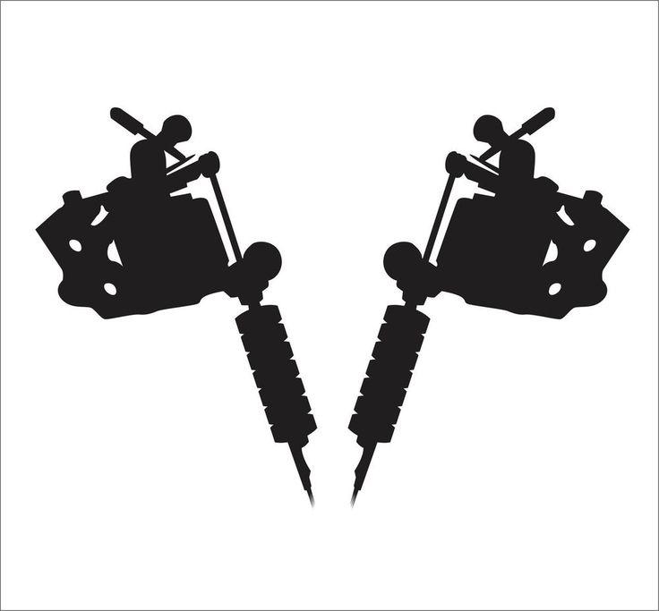 Pics For > Tattoo Machine Logo Vector