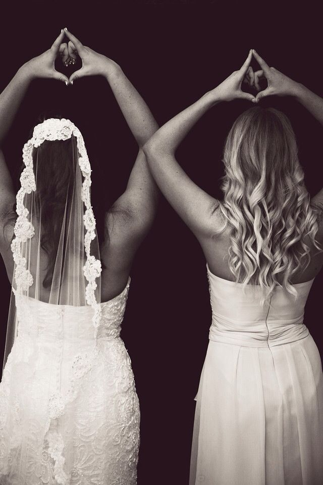 Big/Little at AOII wedding Alpha Love - I never pin wedding things, but I can't wait for this moment.