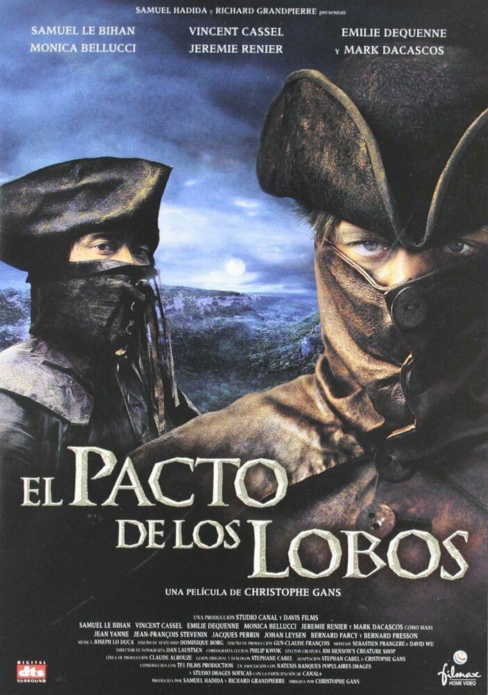 El Pacto De Los Lobos Dvd Pelicula Ebay Peliculas De Lobos El Pacto Ver Películas