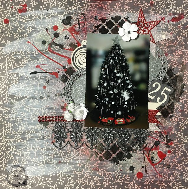 Artdeco Creations Brands: Oh Christmas Tree by Tracey Cooley