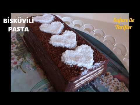 Kendine Hayran Bırakan Pasta - Kolay Pratik ve Nefis Bisküvili Pasta Tarifi - Pasta Tarifleri - YouTube
