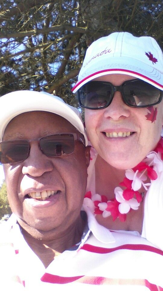Chuck and me Canada Day 2015