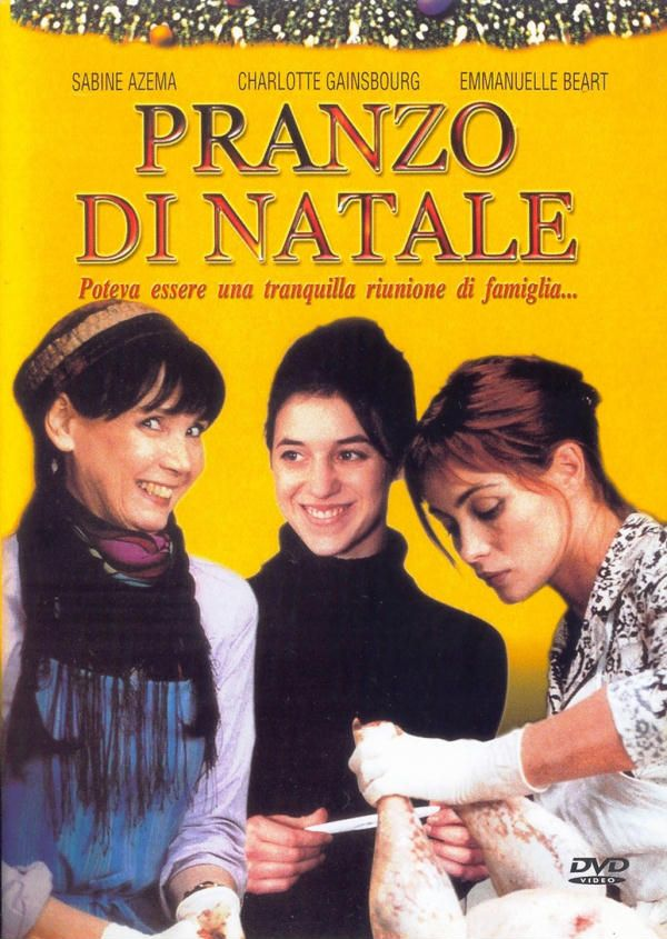 La bûche , 1999 France , by Danièle Thompson ; half-brother (Christopher Thompson 30-y)  , half-sister (Charlotte Gainsbourg 28-y) and two other half-sisters (Sabine Azéma 50-y , Emmanuelle Béart 36-y)