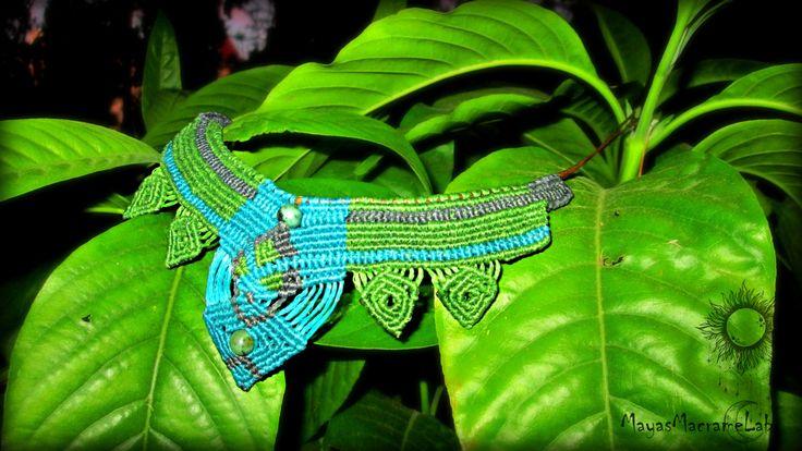 Agate Beads Macrame Handmade Necklace by MayasMacrameLab on Etsy