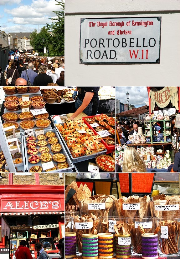 Portobello Road, London City <3