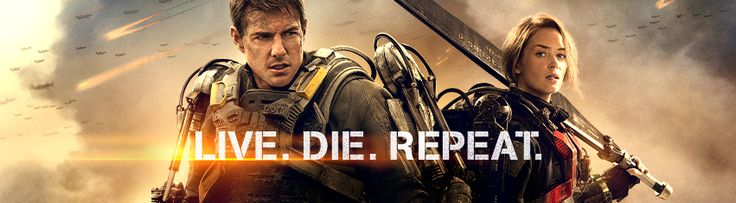 New Posters for EDGE OF TOMORROW Featuring Tom Cruise & Emily Blunt