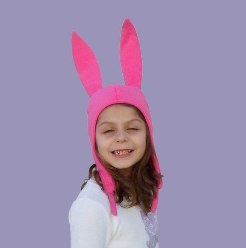 Pink Bunny Ears Hat