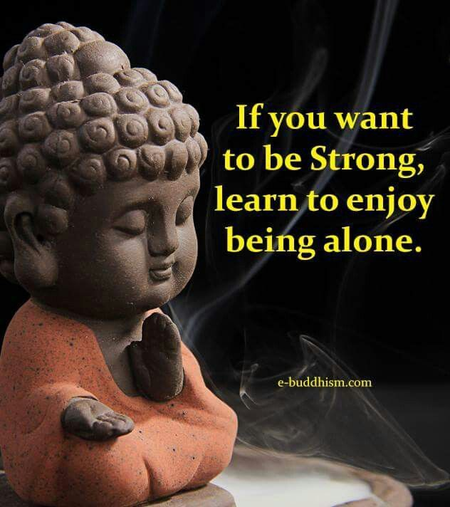 Yes. A must. One has to be alone for self-reflection to be able to grow within and refocus.