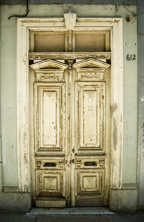 Old Door in a House in Limache, Chile  by philhxc