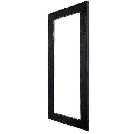Mirror Black 95x210x4 cm