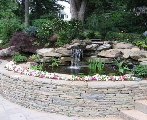 Image detail for -Raised Backyard Pond | Home and Landscaping Designs