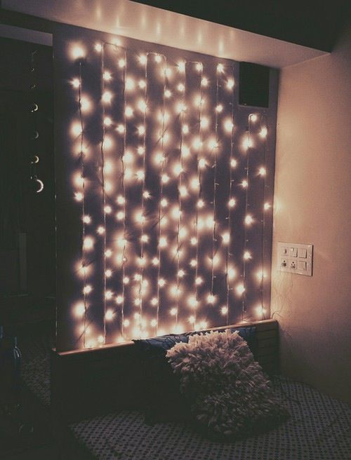 How about putting the lights in the ceiling as well  Create a shiny night    Shine ya light  More. 17 Best ideas about Bedroom Fairy Lights on Pinterest   Fairy