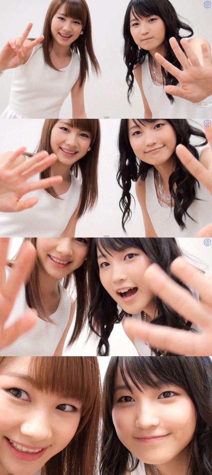 モーニング娘。'14 - 石田亜佑美 Ishida Ayumi、鞘師里保 Sayashi Riho