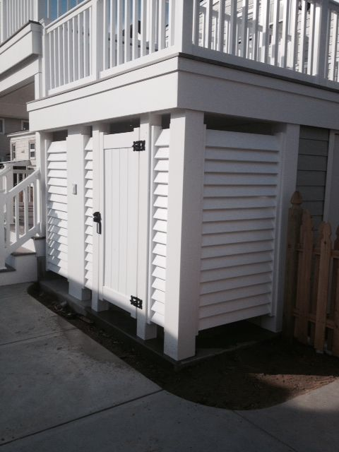 Louvered Doors Outdoor Shower Google Search Shower