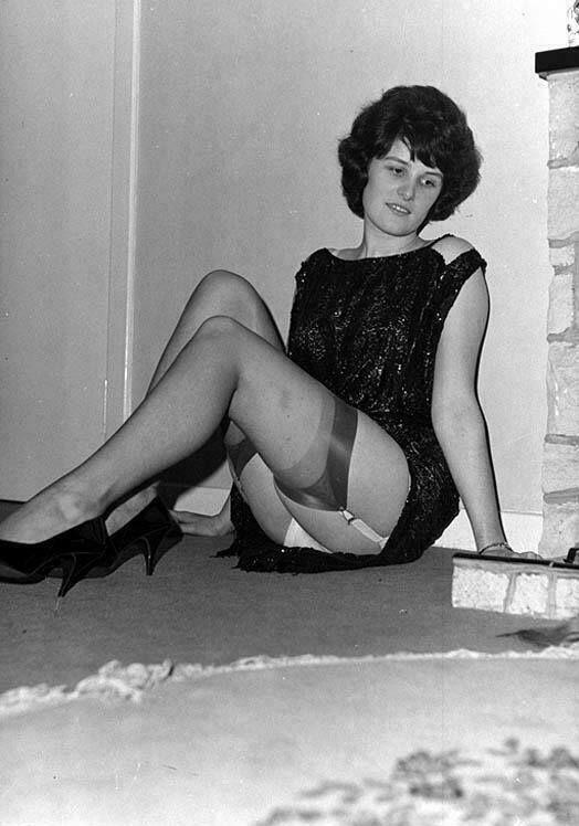 Vintage Strumpf Lesben