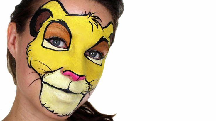 Simba | The Lion King Makeup Tutorial