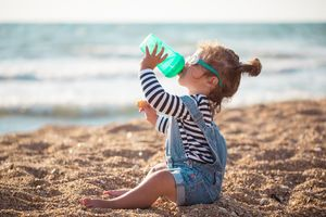 Helping Baby Kick the Bottle: Quick tips to help your toddler say bye-bye to the bottle.