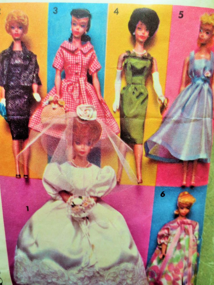 Vintage Advance Sewing Pattern Group C, Barbie Clothes, Barbie Wedding Dress, Fashion Doll Wardrobe, Barbie Wardrobe, Barbie Trousseau by sewbettyanddot on Etsy