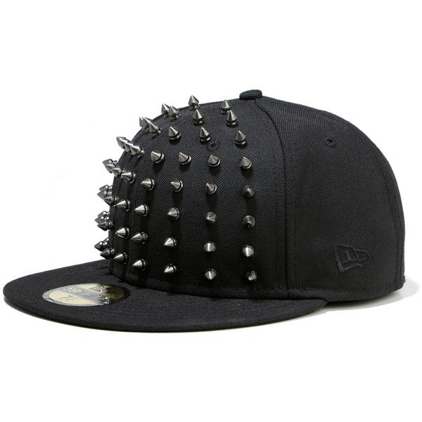 MUSIUM DIV. x New Era Studded Cap Collection ❤ liked on Polyvore