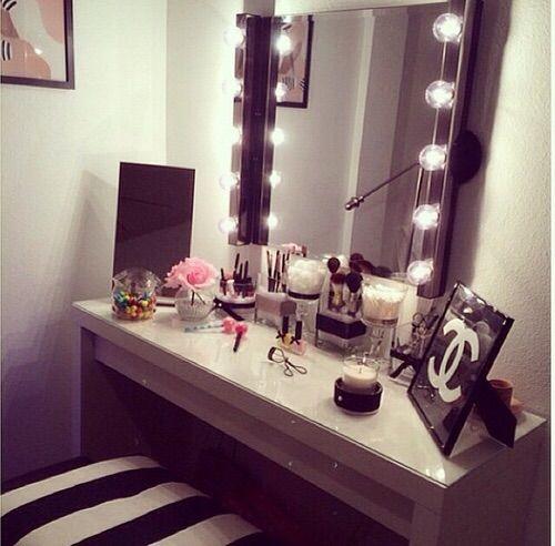 Image via We Heart It #chanel #decor #designer #makeup #makeupstudios